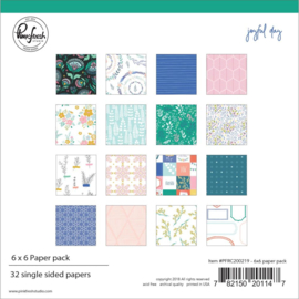 Joyful Day Paper Pack 6x6 Inch
