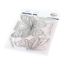 Clear Stamp Set Butterflies