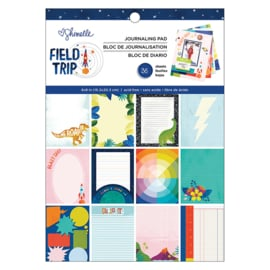 Field Trip Single-Sided Paper Pad 6x8 Inch