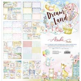 "Dreamland, 4""X6"" Journaling Cards Collection Pack 12""X12"""