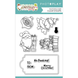 Christmas Morning Photopolymer Clear Stamps