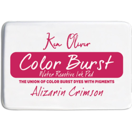Color Burst Ink Pad Alizarin Crimson