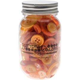 Button Mason Jars Sweet Mango