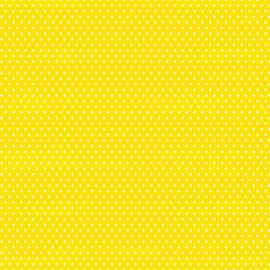 Patterned single-sided yellow sm. dot