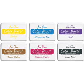 Color Burst Ink Pad Set 6