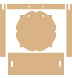 Photo frame arbour