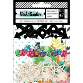 Let's Wander Embellishment Pack