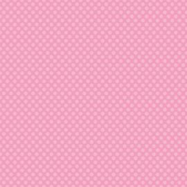 Patterned single-sided l.pink l.dot