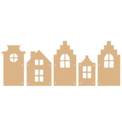 Houses 5 pcs