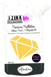 Izink Diamond Glitter Paint 24 Carats Orange