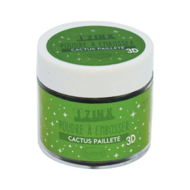 Embossing Powder Cactus Paillete