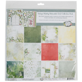 """Vintage Artistry Naturalist Collection Pack 12""""X12"""""""