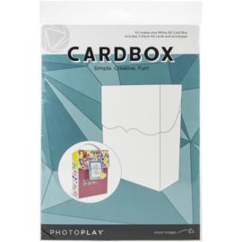 A2 Cardbox Cards & Envelopes White