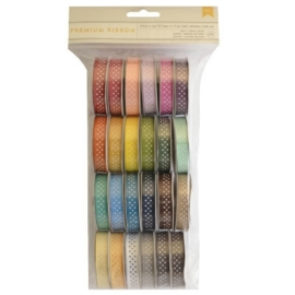 Ribbon assorted dots