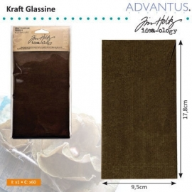 Kraft glassine envelopes