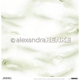Winter Paper Mini Snow - Green