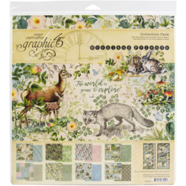 """Woodland Friends Collection Pack 12""""X12"""""""