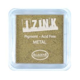 Inkpad Izink Pigment Metal Gold Large