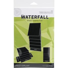 "Maker Series 4""x4"" Mechanical Black Waterfal"