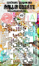 #059 - A6 Stencil