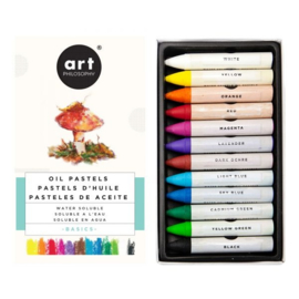 Water Soluble Oil Pastels Basics