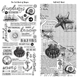 Vintage Artistry Beached Washi Tape