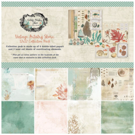 "Vintage Artistry Shore Collection Pack 12""X12"""