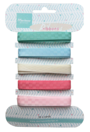 JU0950 Sweet colors ribbons