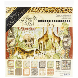"Safari Adventure Deluxe Collector's Edition Pack 12""X12"""