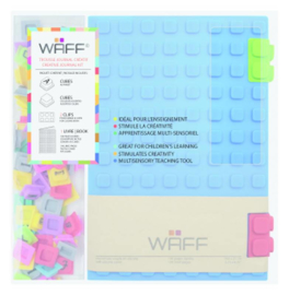 WAFF Creative Journal Kit A5 Blue