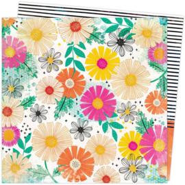 Color Study Floral Study