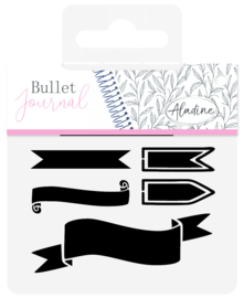 Bullet Journal Mini Stencils Banners