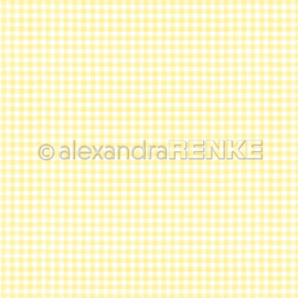 Cooking Paper Kitchen Square Lemon Yellow