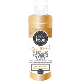 Pre-Mixed Metallic Paint Gold