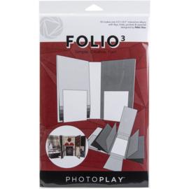 """Folio 4.5""""X8.5"""" White"""