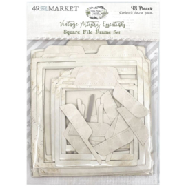 Vintage Artistry Essentials File Frame Set Square
