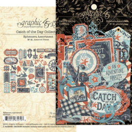 Catch Of The Day Cardstock Die-Cut Assortment