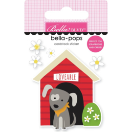 Cooper Doghouse Bella-Pops 3d Stickers