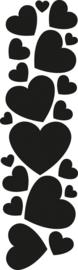 CR1322 Punch die hearts