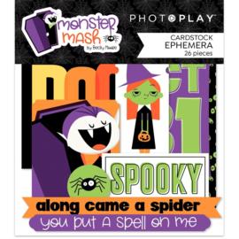 Monster Mash Ephemera Cardstock Die-Cuts