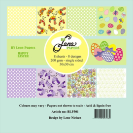 Happy Easter Paper Pack 12x12 Inch