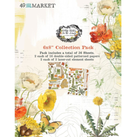 """Vintage Artistry In The Leaves Collection Pack 6""""X8"""""""