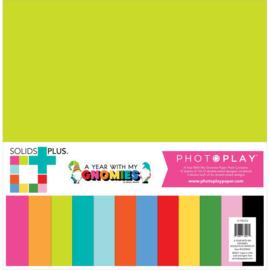 """Gnome Calendar Solids + Paper Pack 12""""X12"""""""