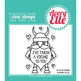 "Clear Stamp Set Viking 2""X3"""