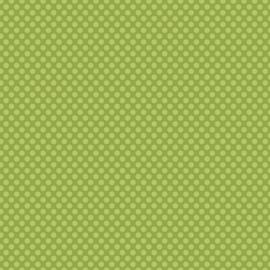Patterned single-sided l.green l.dot