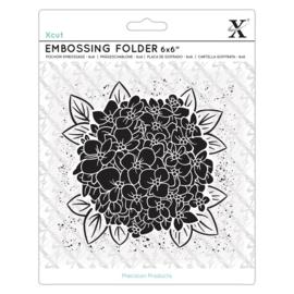 Full Bloom Hydrangea 6x6 Inch