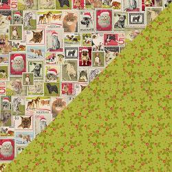 Nostalgia 11 Pet Postage Stamps