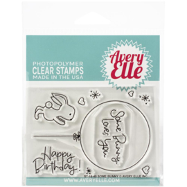 "Clear Stamp Set Some Bunny 4""X3"""