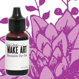 Make Art Dye Ink Pad Reinkers Cactus Flower