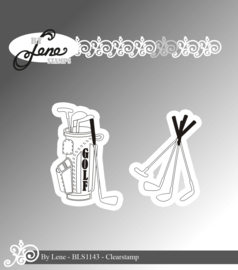 Clear Stamps Golf Clubs